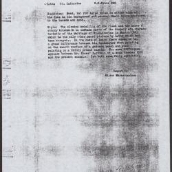 Image for K0246 - Alan Burroughs report, circa 1930s-1940s