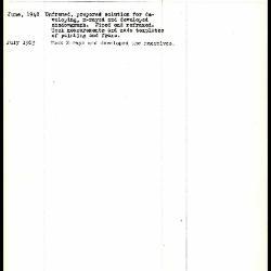 Image for K1367 - Work summary log, 1948-1963