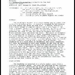 Image for K1367 - Examination summary, 1989