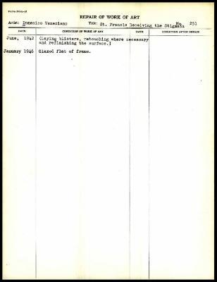 Image for K0278 - Work summary log, 1942-1946