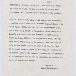 Image for K1129 - Alan Burroughs report, circa 1930s-1940s