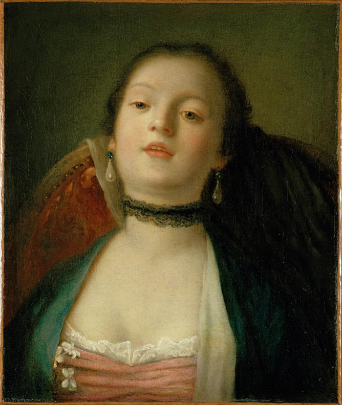 Image for Young Woman with a Sprig of Jasmine