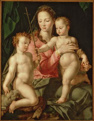 Image for Madonna and Child with the Infant Saint John