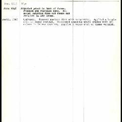 Image for K0178 - Work summary log, 1943-1969