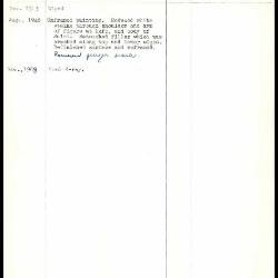 Image for K0348 - Work summary log, 1943-1968
