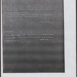 Image for K0348 - Expert opinion by Longhi, 1935
