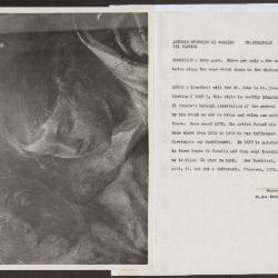 Image for K0348 - Alan Burroughs report, circa 1930s-1940s