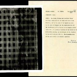 Image for K0482 - Alan Burroughs report, circa 1930s-1940s
