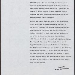 Image for K0149 - Alan Burroughs report, circa 1930s-1940s