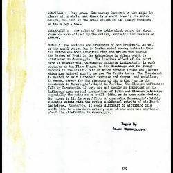 Image for K0306 - Alan Burroughs report, circa 1930s-1940s