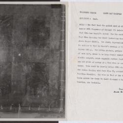 Image for K0262 - Alan Burroughs report, circa 1930s-1940s
