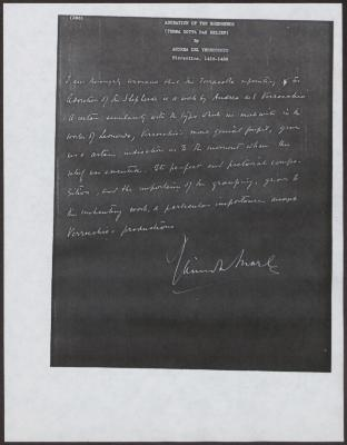 Image for K0288 - Expert opinion by Marle, circa 1920s-1930s