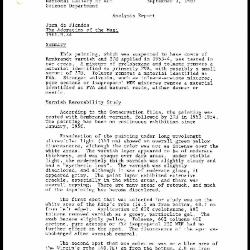 Image for K1944 - Scientific analysis report, 1987