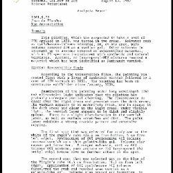 Image for K1942 - Scientific analysis report, 1987