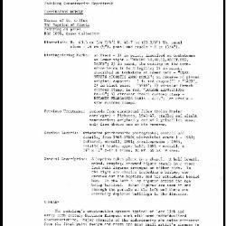 Image for K1422 - Examination summary, 1983