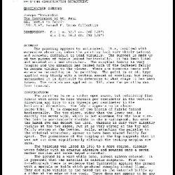 Image for K2064 - Examination summary, 1987