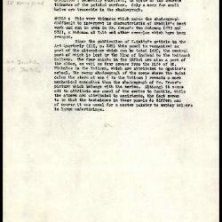 Image for K0486 - Alan Burroughs report, circa 1930s-1940s