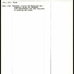 Image for K0230 - Work summary log, 1943-1948