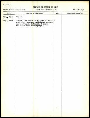 Image for K0285 - Work summary log, 1943-1944