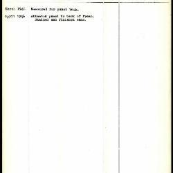 Image for K1369 - Work summary log, 1946