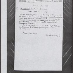 Image for K0230 - Expert opinion by Longhi, 1932
