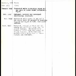 Image for K0164 - Work summary log, 1943-1966