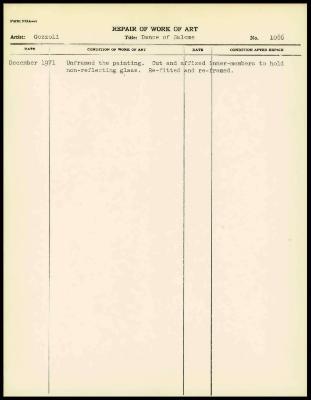 Image for K1648 - Work summary log, 1971