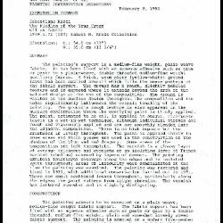 Image for K0164 - Examination summary, 1990