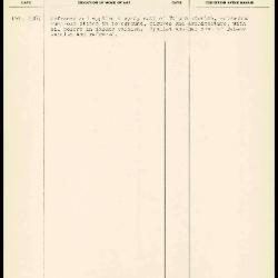 Image for K1648 - Work summary log, 1967