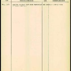 Image for K1406 - Work summary log, 1967
