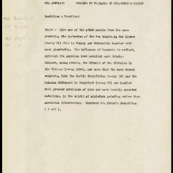Image for K1387 - Alan Burroughs report, circa 1930s-1940s