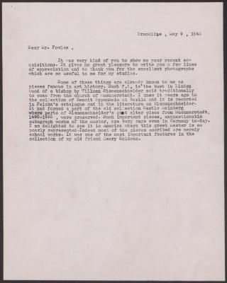 Image for K1376 - Expert opinion by Swarzenski, 1942