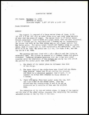 Image for K1406 - Examination summary, 1979