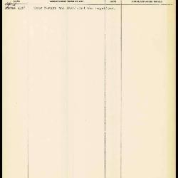 Image for K1659 - Work summary log, 1964