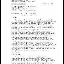 Image for K1684 - Examination summary, 1987