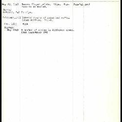 Image for K1194 - Work summary log, 1941-1949
