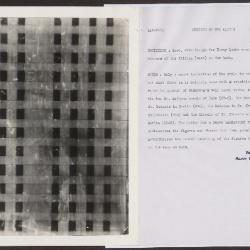 Image for K0513 - Alan Burroughs report, circa 1930s-1940s