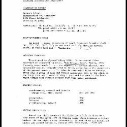 Image for K1696 - Examination summary, 1983