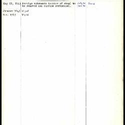 Image for K0196 - Work summary log, 1941-1943