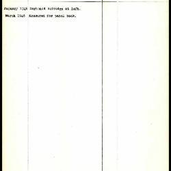 Image for K1357 - Work summary log, 1946