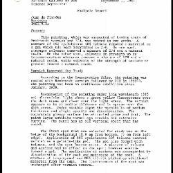 Image for K1943 - Scientific analysis report, 1987