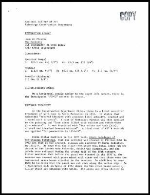 Image for K1943 - Examination summary, undated