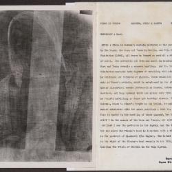 Image for K1096 - Alan Burroughs report, circa 1930s-1940s