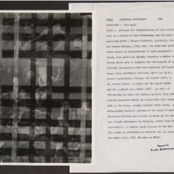 Image for K0299 - Alan Burroughs report, circa 1930s-1940s