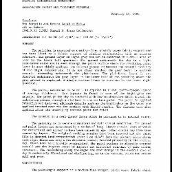 Image for K2175 - Examination summary and treatment proposal, 1993