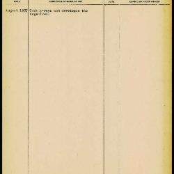 Image for K1432 - Work summary log, 1957