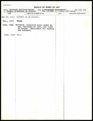 Image for K0299 - Work summary log, 1941-1966