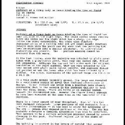 Image for K1804 - Examination summary, 1989