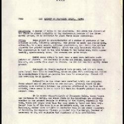 Image for K0249 - Alan Burroughs report, circa 1930s-1940s