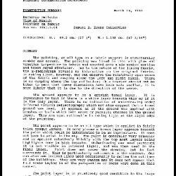 Image for K1865 - Examination summary, 1990